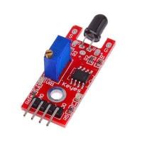 Flame Sensor 4 Pin Sensor Api dengan Analog Output