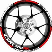 Stiker velg motor Wheel Striping Honda CBR 250 RR series1