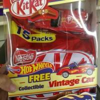 Jual KitKat Coklat kit kat Chocolate Free Gratis Mobil HotWheels Hot wheels Murah
