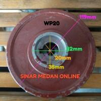 Impeller Water Pump WP20 - Kipas Pompa Air Tipe Spi