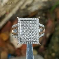 Jual Terbaru Yukk Kaka Cincin Emas Putih Full Berlian Eropa Murah