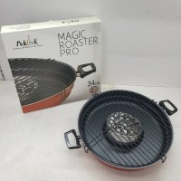 Jual Magic Roaster Teflon Makcook 34 CM Murah