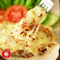 Jual Nasi Ayam Geprek Mozarella Murah