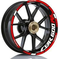 stiker velg motor wheel sticker CBR600Rr ring 17