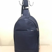 Tas Selempang Cowok Coach Original / Men Sling Pack Bag Polgan Navy