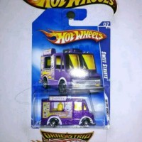 Hot Wheels Ice Cream Truck Ungu
