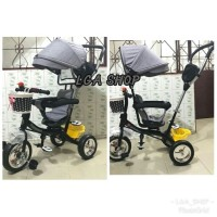 SEPEDA STROLLER CANOPY ANTI UV TRICYCLE ANAK PUTAR RODA TIGA SHINCAN .