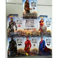 Hot Wheels DC COMICS SUPERHERO -Justice League [ SUPERMAN - BATMAN - W