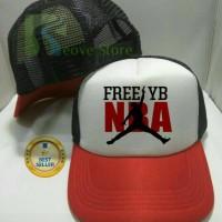 Topi Trucker Free NBA Young Boy Baseball Snapback - Reove Store