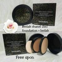 Bedak Chanel 2in1 Powder + Foundation