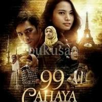 BUKU NOVEL 99 CAHAYA DI LANGIT EROPA COVER FILM, ORIGINAL