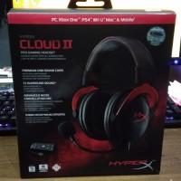 Headset Gaming KINGSTON HYPERX CLOUD II garansi resmi NJT 2th