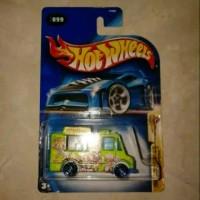 Hot Wheels Ice Cream Truck Tropicool Hijau