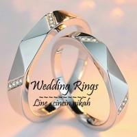 Jual cincin kawin palladium, cincin tunangan, cincin couple Murah