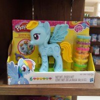 PlayDoh Play Doh Rainbow Dash Style Salon Original Hasbro