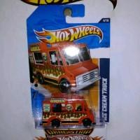 Hot Wheels Ice Cream Truck Merah Tampo 🔥