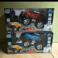 RC Mobil Bigfoot Storm Jeep Range Rover Evoque warna Biru / merah