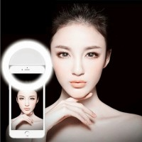 Jual Lampu Selfie Ring Light LED / Charm eyes Portable clip Murah