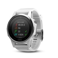 harga Garmin Fenix 5s Carrara White Gps Watch Sea [sku: Ap753759181796-k] Tokopedia.com