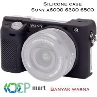 Jual Silicone Case Sony Alpha A6000 A6300 A6500  silikon tas a 6000 a 6300 Murah