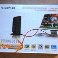 GADMEI TV 5821 New Tuner Box CRT LCD LED Widescreen Combo Mo T1310