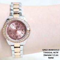 Jam tangan DKNY wanita supplier import termurah guess/fossil tanggal