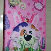 Jual Okiedog Wildpack 3D Pencil Case Pippa Rabbit Pink Zippered Pouch  Murah