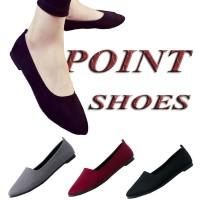 Point Shoes ABP09 Flatshoes wanita korea | sepatu flat shoes cewek