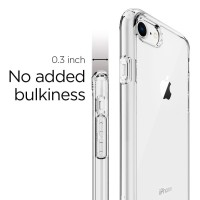 Spigen iPhone 8 / Iphone 7 Case Ultra Hybrid 2 - Crystal Clear
