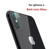Jual Iphone X Camera Tempered Glass Lens Protector - Clear ( New) Murah