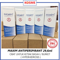 Maxim Antiperspirant Roll On ! ( Solusi Keringat Berlebih / Burket )