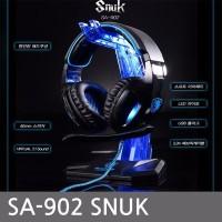 SALE Headset Sades SA 902 USB Gaming 7 1 Sound