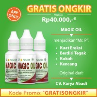 Obat Herbal Oles Atasi Disfungsi-Ereksi Impotensi Pria - MAGIC OIL