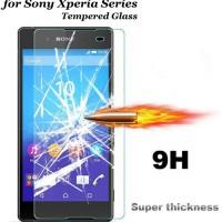 Jual Tempered Glass Sony Xperia M2 (Screen Protector Anti gores Kaca)  Murah