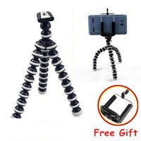 Gorilla Pod Medium Tripod Kamera GoPro free Holder U