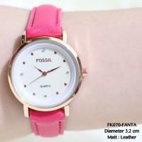Jam tangan fossil kulit wanita leather casual watch termurah grosir