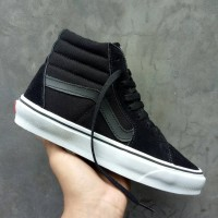 8adc51c346 SEPATU VANS SK8 HIGH BLACK DOPE PREMIUM DT BNIB MADE IN CHINA