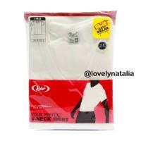 Jual (Promo) V neck Rider Putih - Style R222B - Kaos Oblong Murah