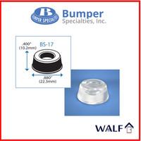 Bumper pads BS17| anti slip / pengganjal kaca recessed 21mm