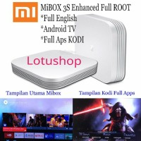 Jual Xiaomi Hezi Mi Box 3S Enhanced 4K Android Smart TV 3 / SUDAH ENGLISH Murah
