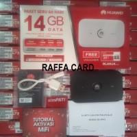 Modem WiFi MiFi Huawei E5573 Unlock 4G All GSM Free Telkomsel 14GB