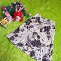 dress baju batik bayi perempuan jogja cream benik ungu 03