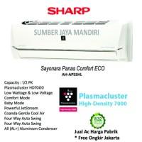 AC Sharp Plasma Cluster Split AH-AP5SHL 1/2PK - Putih