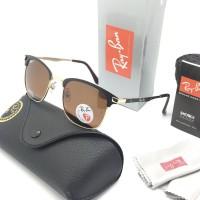 Kacamata Rayban Sunglass Vintage RAY-BAN 4624 Polarized Brown