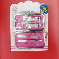 Jual Manicure set ( smile ) gunting kikir kuku pinset korek kuping Murah