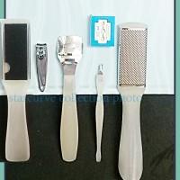 Jual DX NAIL B020A 5in1callus shaver pisau silet manicure pedicure set Murah