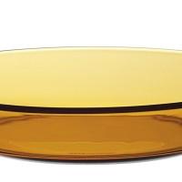 """Duralex -  AMBER SOUP PLATE 19.5 CM (7 5/8"""") - 6 pcs"""