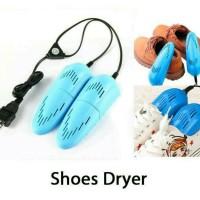 Jual [PROMO] Pengering Sepatu Elektrik Multifungsi 10W 220V US Plug - Blue Murah