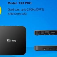 Jual PALING MURAH Android TV Box TX3 Pro 4K S905X Marshmallow Murah