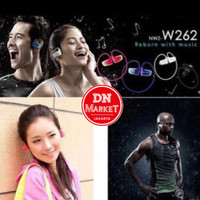 BARU TERMURAH Sony Walkman Sports MP3 Nwz-W262 - 8Gb - Warna Hitam